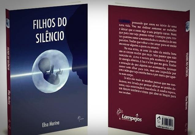 Sorteio do livro Filhos do silêncio, da Editora Penalux