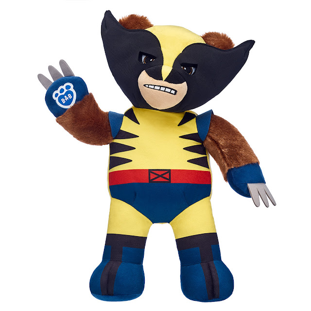 Marvel Comics Wolverine Unveiled at Build-A-Bear Workshop 1