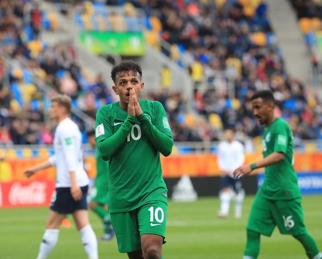 منتخب السعودية يخسر أولي مباريات في مونديال الشباب 2019 بثنائية من منتخب فرنسا