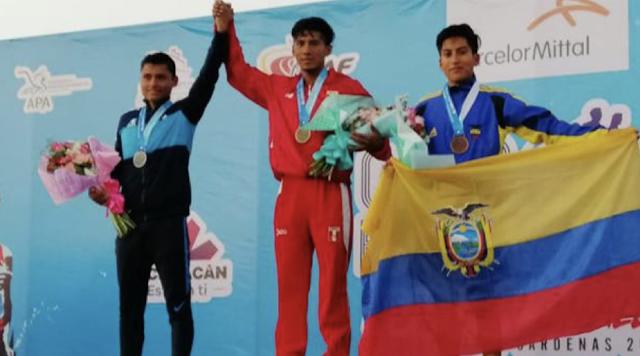 Jhonatan Amores, deportista USFQ, logró medalla de bronce en México