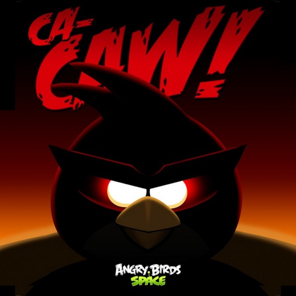 Angry Birds Space Red Bird iPad Wallpaper