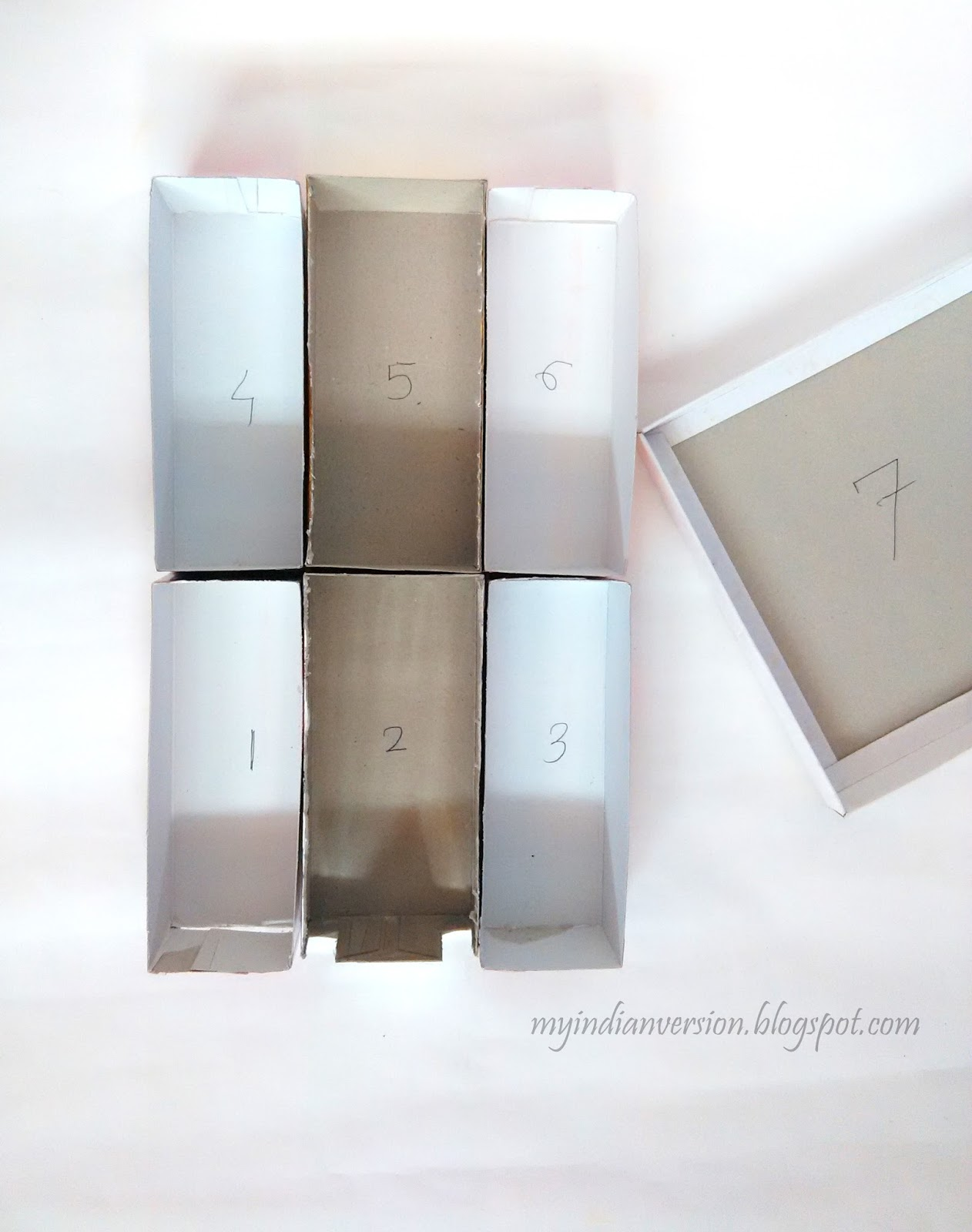 diy office supplies. Cereal-boxes-turned-drawer-inserts-myindianversion Diy Office Supplies