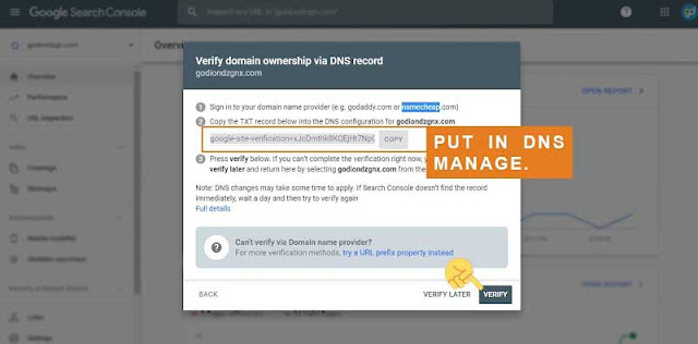 Cara Membuat Ownership Verification Untuk Custom Domain