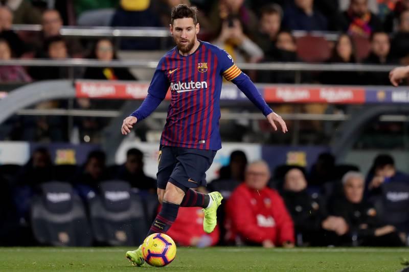 Menyambut Pertandingan Barcelona kontra Valencia, Messi Berikan Suport pada Valverde