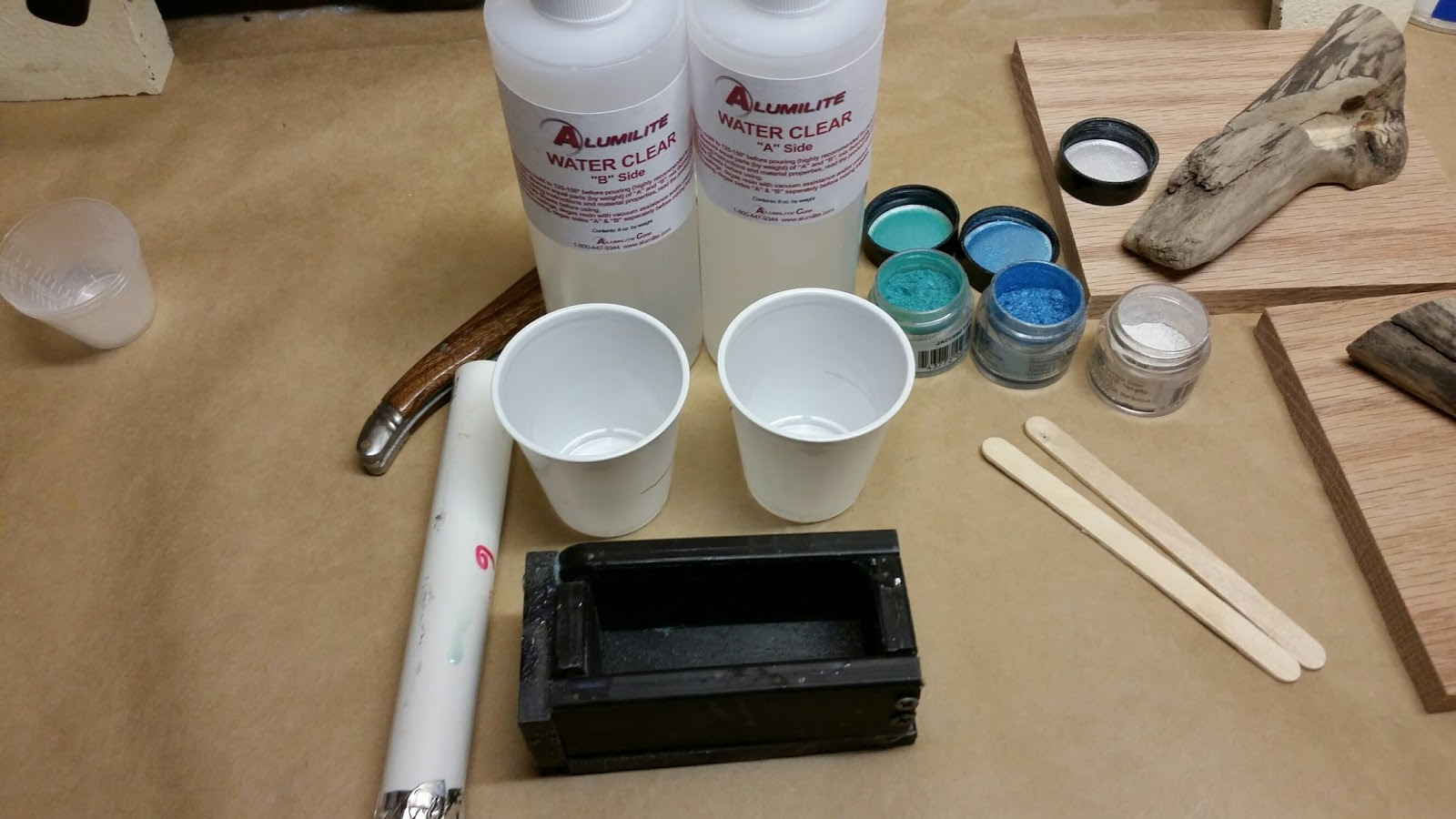 How To Cast Acrylic Blanks