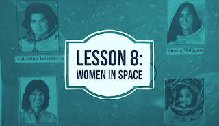 Women in space | Questions Answers | Lesson 8 | Class 7