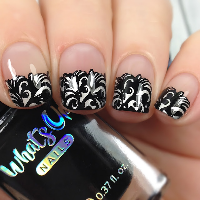 What's Up Nails-B063 Goth is the New Black