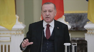 الرئيس أردوغان: تألمت كثيرًا لوقوع حادثي الطائرة والانهيار الجليدي