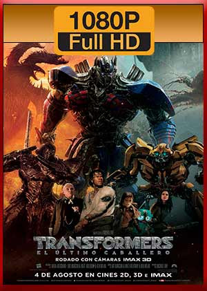 Descargar Transformers El Ultimo Caballero hd latino