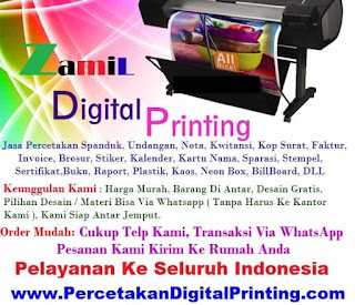 Cari Percetakan Digital Print Cibubur Yang Oke Punya? Di Sini Bisa Antar Jemput Order