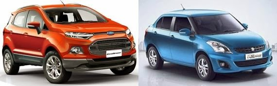 new ecosport vs s cross comparison review. Black Bedroom Furniture Sets. Home Design Ideas