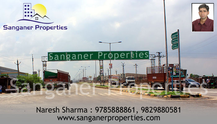 Commercial Land in Sanganer