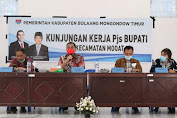 Kunker ke Mooat, Pjs Bupati Christiano Talumepa Ajak Masyarakat Sukseskan Pilkada