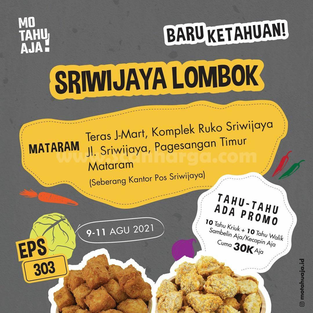 Mo Tahu Aja Sriwijaya Lombok Opening Promo 20 Tahu cuma 30K