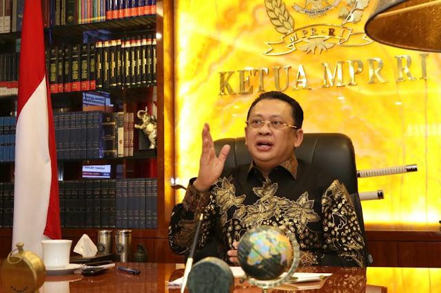 Ketua MPR RI: Taat Protokol Kesehatan Menjadi Jalan Keluar Dari Resesi