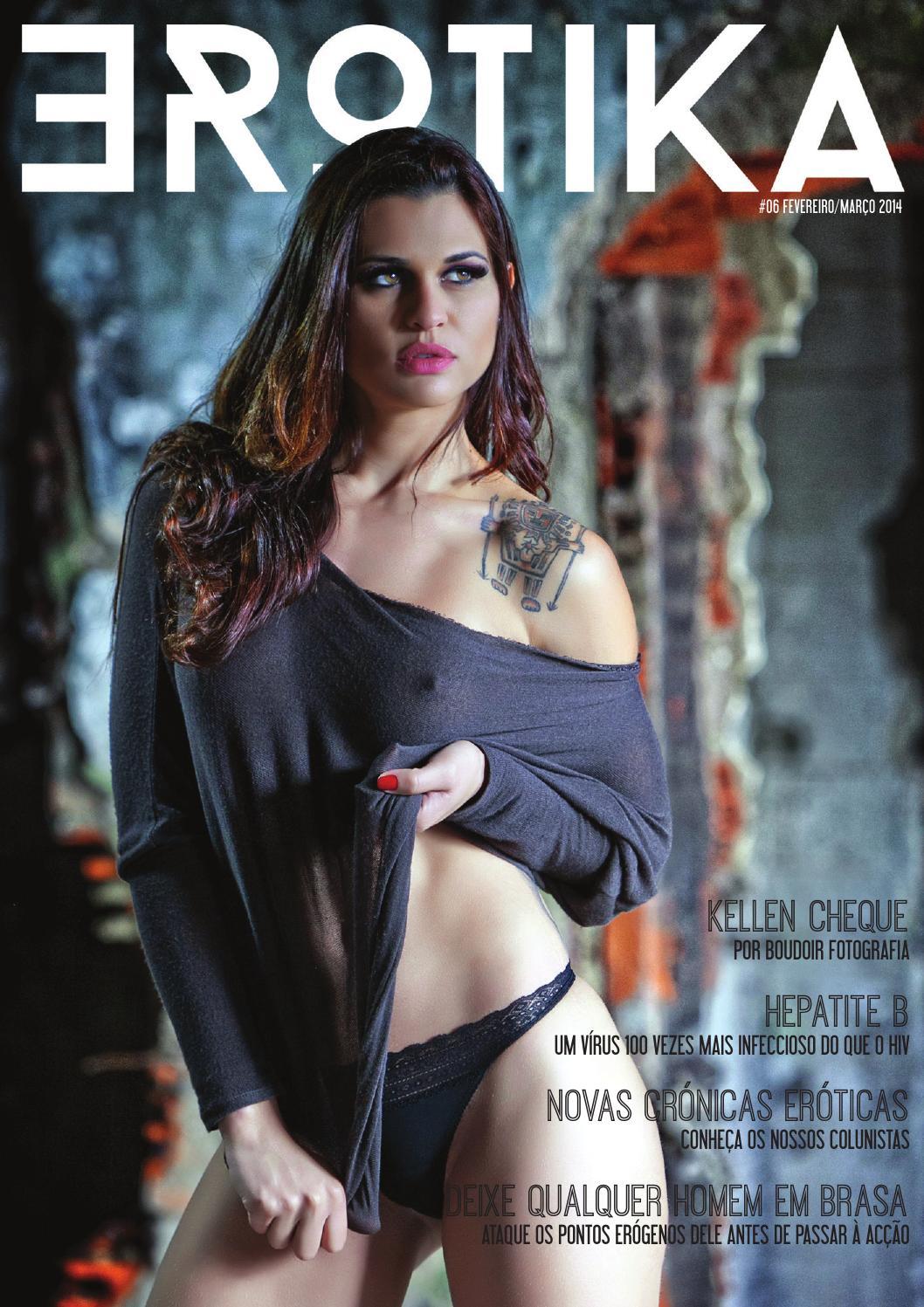 Revista Erotika Portugal Fotos Kellen Cheque