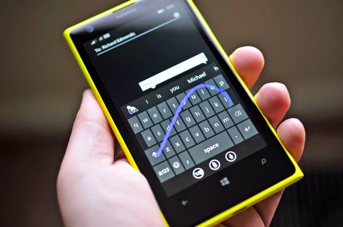 teclado windows phone