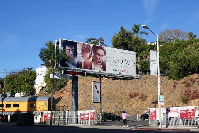 Crown season 4 billboard