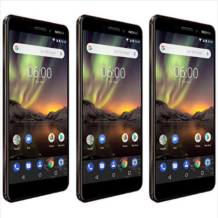 5.5-Inch Nokia 6.1 Qualcomm Snapdragon 630 Smartphone