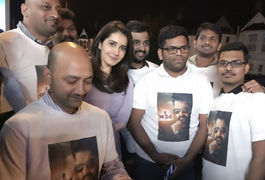 Raashi Khanna Watches Jr NTR's Jai Lava Kusa With Fans In London