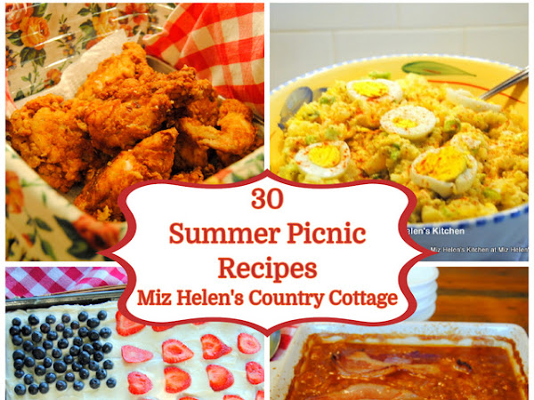 30 Summer Picnic Recipes and 21 Wonderful Camping Desserts