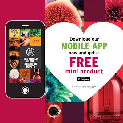 The Body Shop Malaysia Free Gift Mini Product Promo