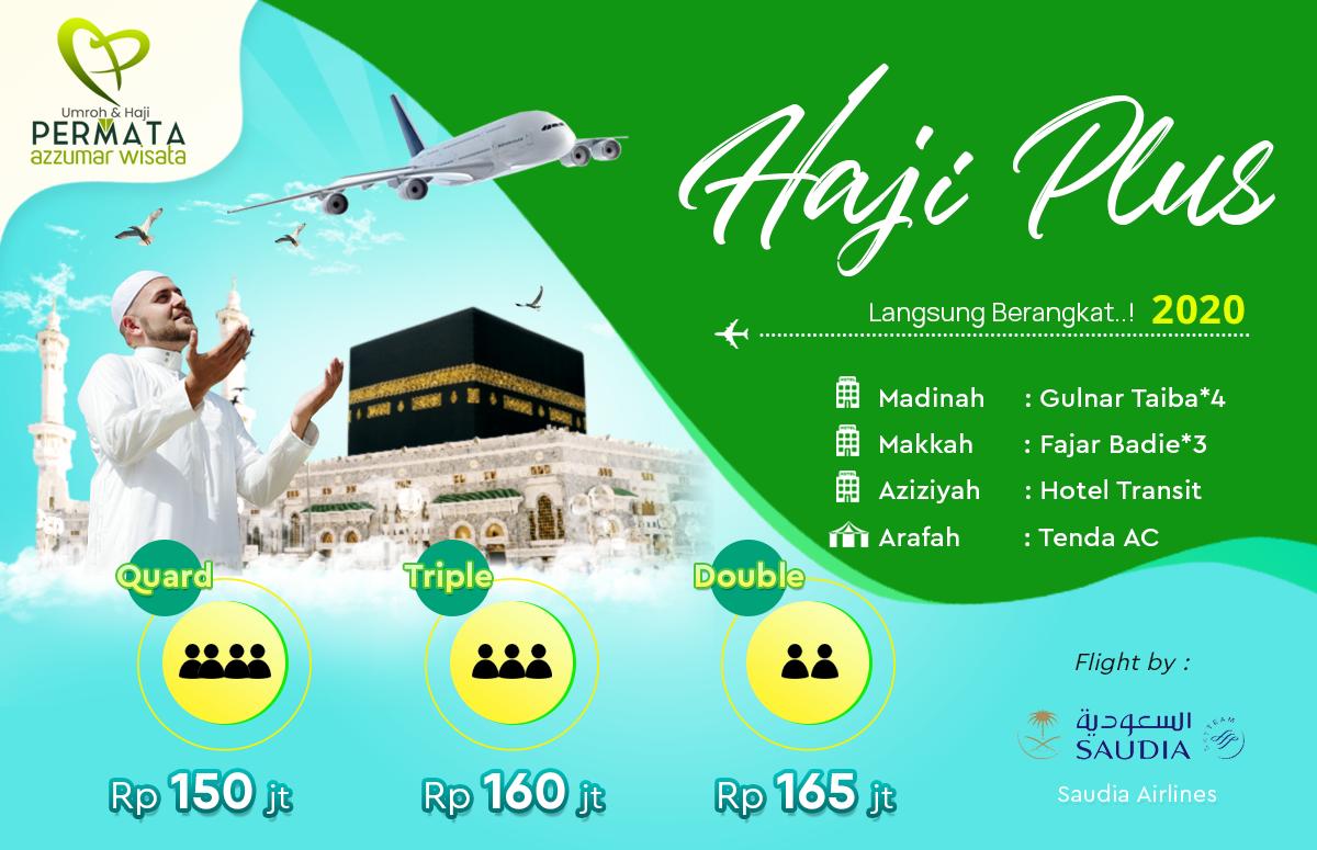 Paket Haji Plus Langsung Berangkat Tahun 2020 Biaya Murah