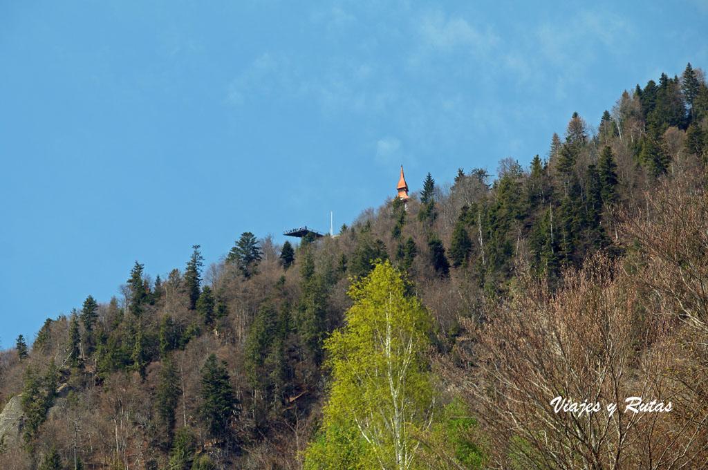 Subida en funicular al Harder Kulm, Interlaken