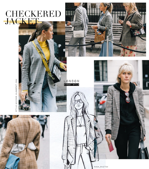 Checkered Jacket trend report