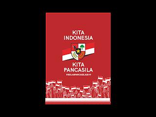 Hari Lahir Pancasila 2019 Free Vector Logo CDR, Ai, EPS, PNG