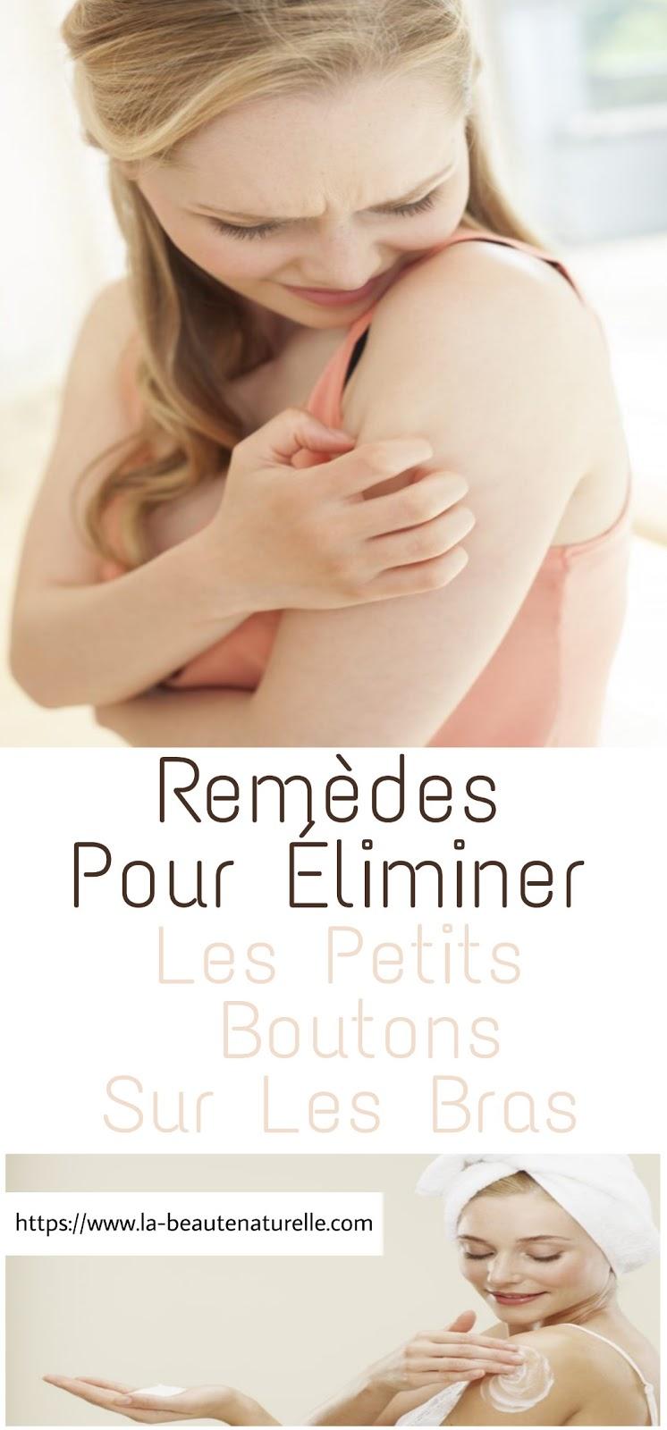 Remèdes Pour Éliminer Les Petits Boutons Sur Les Bras