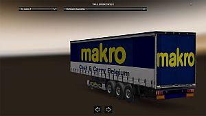 Makro trailer skin