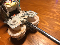 Removing screws