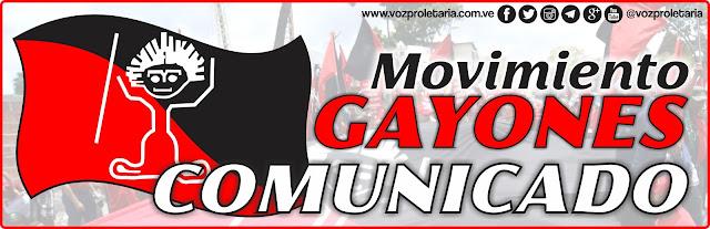 Mensaje de Fin de año del Movimiento Gayones