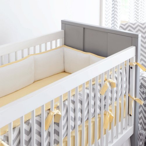I Heart Pears Popular Chevron Crib Bedding