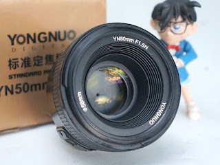 Jual Lensa Fix 50mm AFS Nikon - Yn-Yongnuo 50mm