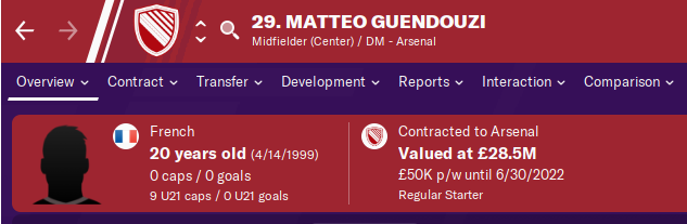 FM20 Wonderkid Analysis - Matteo Guendouzi