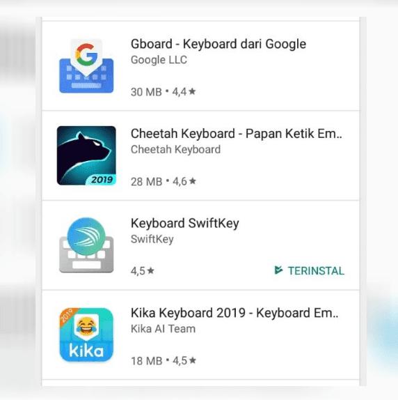Papan Ketik Android
