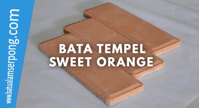 bata tempel orange
