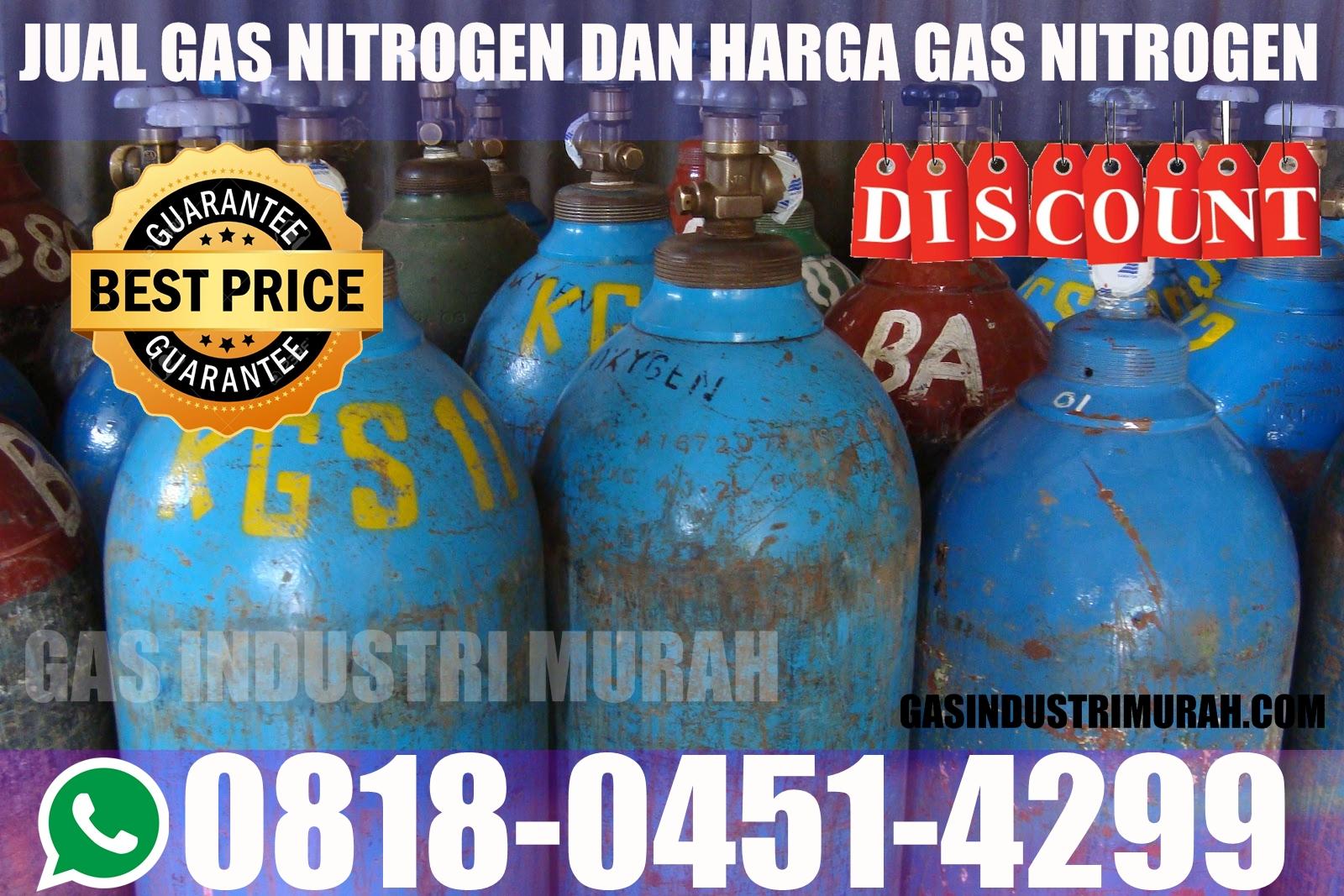 Gas Industri Nitrogen Gas Industri 0818 0451 4299