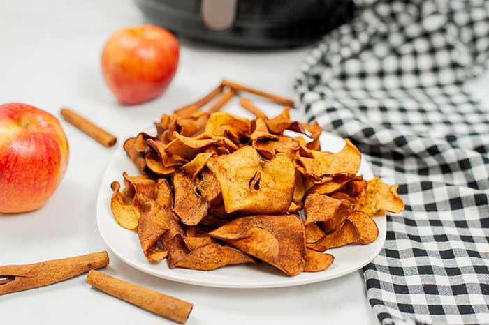 How to Dehydrate Apples in an Air Fryer