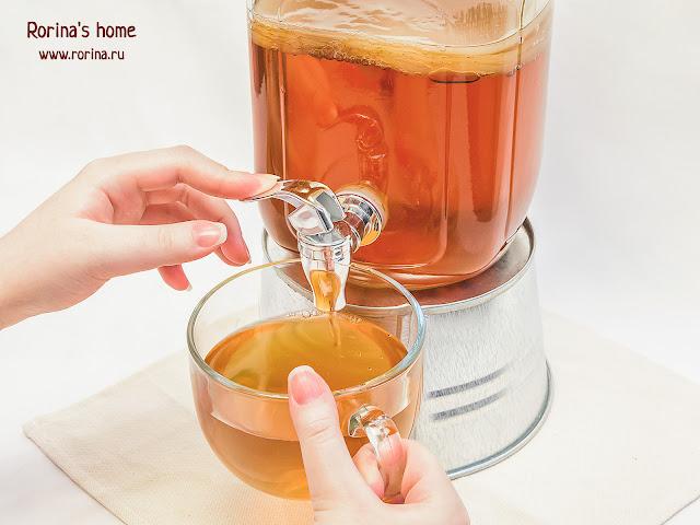 Чайный гриб домашний
