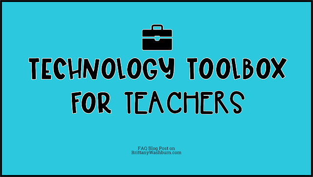 Technology changes so quickly! It can be hard to keep up with all of the newest educational technology tools and even harder to learn how to use them in the classroom. The goal of the Technology Toolbox for Teachers is to take all of that pressure off of you!