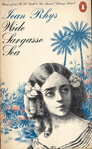 Book cover for Wide Sargasso Sea by Jean Rhys Wide Sargasso Sea in the South Manchester, Chorlton, Cheadle, Fallowfield, Burnage, Levenshulme, Heaton Moor, Heaton Mersey, Heaton Norris, Heaton Chapel, Northenden, and Didsbury book group