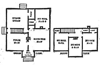 19th Century Historical Tidbits: 1895 Rural House Plans 4