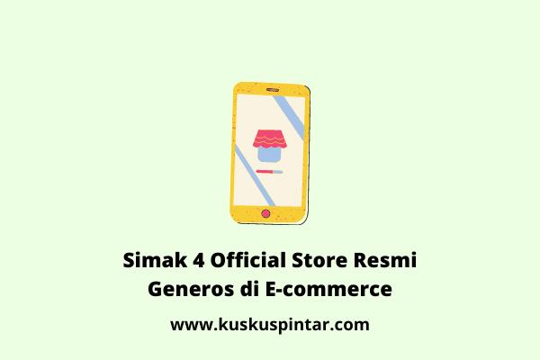 Official Store Resmi Generos di E-commerce