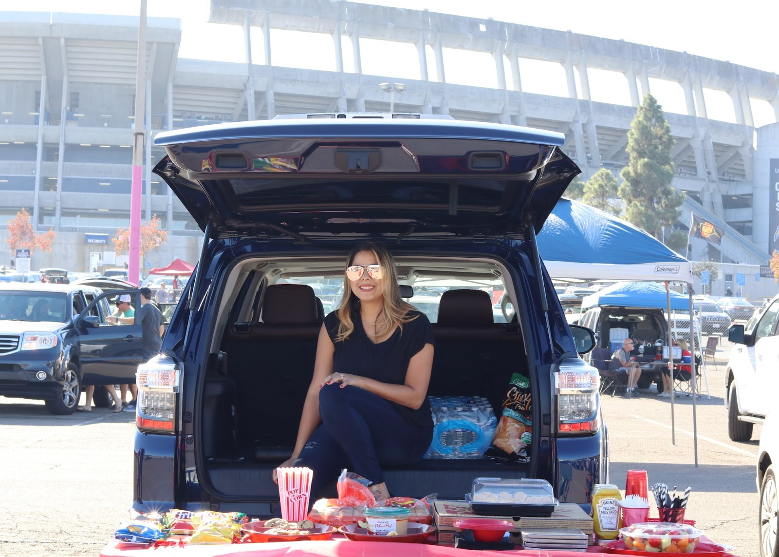 sdsu tailgate party, san diego state tailgate party, ToyotaTailgate, San Diego blogger