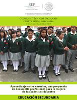 Consejos Técnicos Escolares - Cuarta sesión ordinaria ciclo escolar 2016-2017