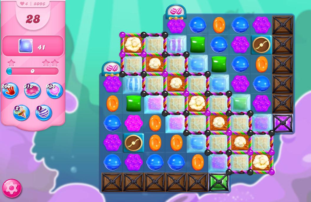 Candy Crush Saga level 8096
