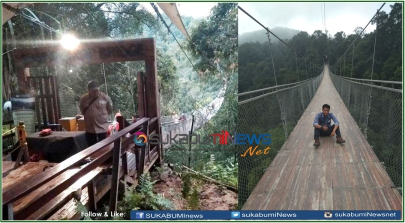 Objek Wisata Jembatan Gantung Sukabumi
